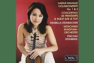 Arabella Steinbacher, Munich Radio Orchestra - Milhaud: Violinkonzert No. 1 & 2 - Concertino De Printemps - Le Bœuf Sur Le Toit [CD]