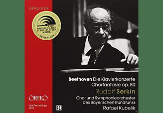 Rudolf Serkin, Chor Und Symphonieorchester Des Bayerischen Rundfunks - Beethoven: Die Klavierkonzerte - Chorfantasie, Op. 80  - (CD)