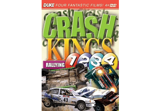 Crash Kings Rallying 1, 2, 3, 4 - (DVD)