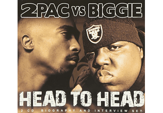 2 Pac Shakur, The Notorious B.I.G. - 2pac V.S.Biggie - Head To Head - (CD)