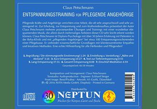 Claus Petschmann - Entspannungstraining Für Pflegende Angehörige  - (CD)