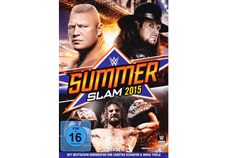 WWE Summerslam 2015 DVD