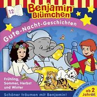 Benjamin Blümchen - Gute-Nacht-Geschichten: Folge 12 - Frühling, Sommer, Herbst und Winter - (CD)