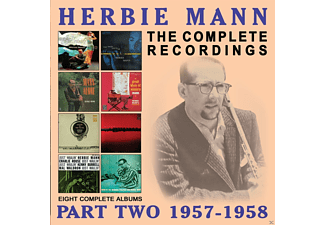Herbie Mann - The Complete Recordings: Part Two 1957-1958 - (CD)