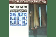 Borodin String Quartet - SHOSTAKOVICH QUARTET 4&8 [Vinyl]