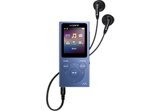 SONY Walkman® NWE394L 8GB mit UKW Tuner, blau