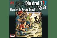 Die Drei ??? Kids - Die drei ??? Kids 44: Monster in Rocky Beach - (CD)