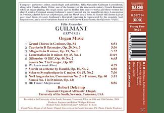Robert Delcamp - Orgelmusik  - (CD)