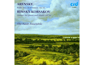 Nash Ensemble - Trio op.32/Quintett Für Klavier U.Blasinstrumente  - (CD)