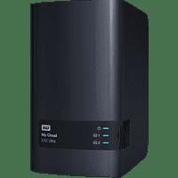 WD My Cloud™ EX2 Ultra NAS-Festplatte 4 TB 3,5 Zoll extern