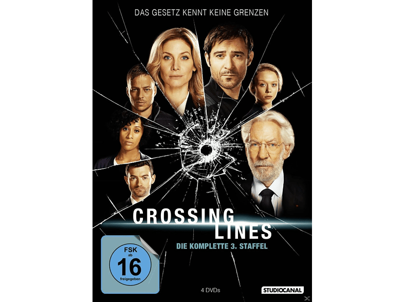 Crossing Lines 3. Staffel [DVD]