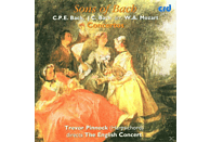 PINNOCK/ENGLISHCONCERT, The English Concert - Trevor Pinnock - Sons Of Bach/Pinnock [CD]
