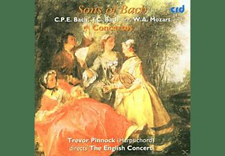 PINNOCK/ENGLISHCONCERT, The English Concert - Trevor Pinnock - Sons Of Bach/Pinnock  - (CD)