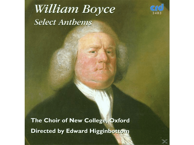 Edward/choir Of New College Oxford Higginbottom - Boyce:Select Anthems [CD]
