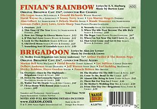Broadway Cast 1947 - Finian's Rainbow/Brigadoon  - (CD)