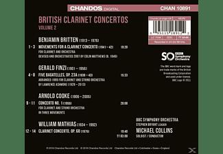 Michael Collins, BBC Symphony Orchestra - Britische Klarinettenkonzerte Vol.2  - (CD)