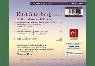Gothenburg Symhony Orchestra - Orchesterwerke Vol.4-Sinfonie 3/Drei Noctur  - (CD)