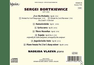 Nadejda Vlaeva - Klaviersonaten/Fantasiestücke/3 Mazurken/+  - (CD)