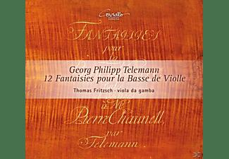 Thomas Fritsch - 12 Fantasien Für Gambe Solo Twv 40:26-37  - (CD)
