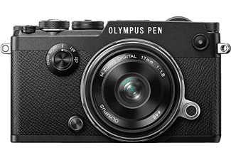 OLYMPUS PEN-F Kit EW-M 17mm f/1.8 Black - (V204063BE000)