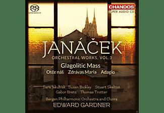 Bergen Philharmonic Orchestra and Choirs - Orchesterwerke Vol.3-Glagolithische Messe/Adagi  - (SACD Hybrid)