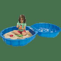 BIG Sand-/Watershell Sandkasten Blau