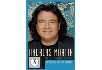 Andreas Martin - Tänzer, Träumer, Spinner - (CD + DVD Video)