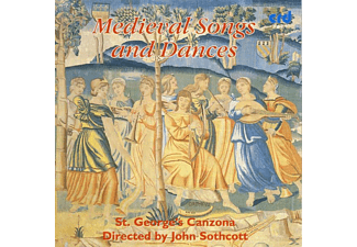 ST. GEORGE'S Canzona - Medieval Songs And Dances  - (CD)