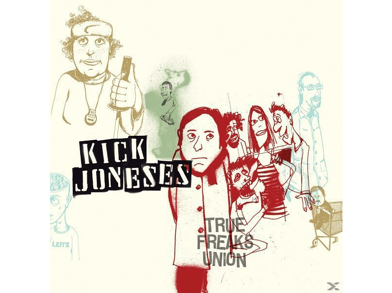 Kick Joneses - TRUE FREAKS UNION [CD]