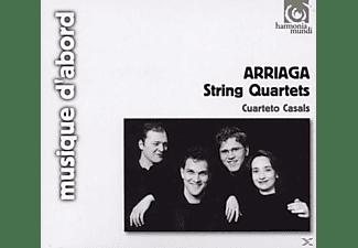 Cuarteto Casals - Streichquartette 1-3  - (CD)