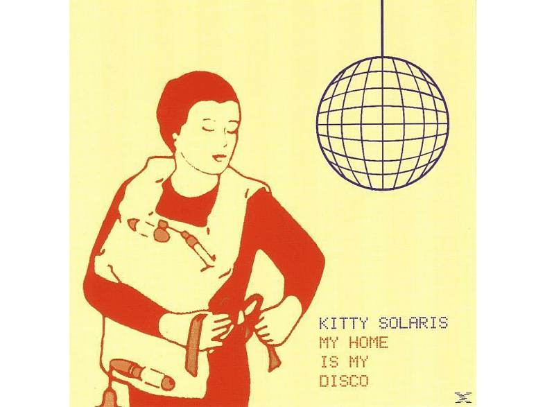 Kitty Solaris - My Home Is My Disco [CD]