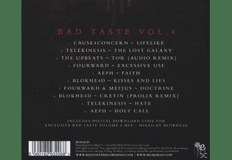 Blokhe4d Presents - Bad Taste Vol.4  - (CD)
