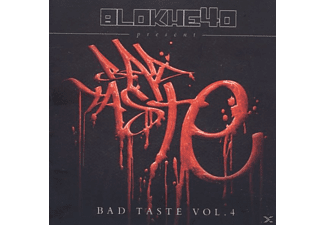 Blokhe4d Presents - Bad Taste Vol.4  - (CD)
