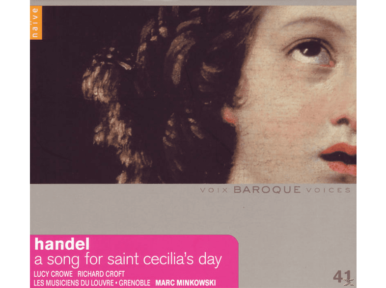 Musiciens Du Louvre-grenoble & Mink - A Song For Saint Cecilia's Day [CD]