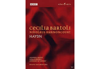 Nikolaus Harnoncourt, Cecilia Bartoli - Arien/Sinfonie 92  - (DVD)