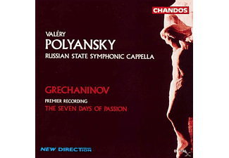 Valeri Polyansky, Russian State Symphonic Cappella - The Seven Days Of Passion - (CD)