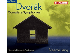 Scottish National Orchestra, Jaervi Neeme, Neeme / Scottish National Orchestra Järvi - Sämtliche Sinfonien 1-9 (GA) - (CD)