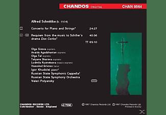 Sruss, Khudolei,I./Polyansky,V./SRUSS - Requiem/Klavierkonzert  - (CD)