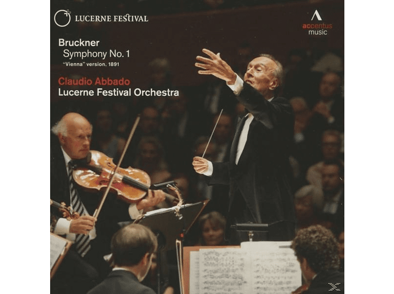 Claudio Abbado, Lucerne Festival Academy Orchestra - Sinfonie 1 (Wiener Fassung 1891) [CD]