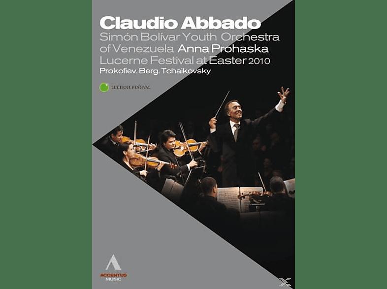 Harnisch/Camarena, Abbado/Orch.Mozart Bologna/Schoenberg Chor/+ - Lucerne Festival At Easter 2010 [Blu-ray]