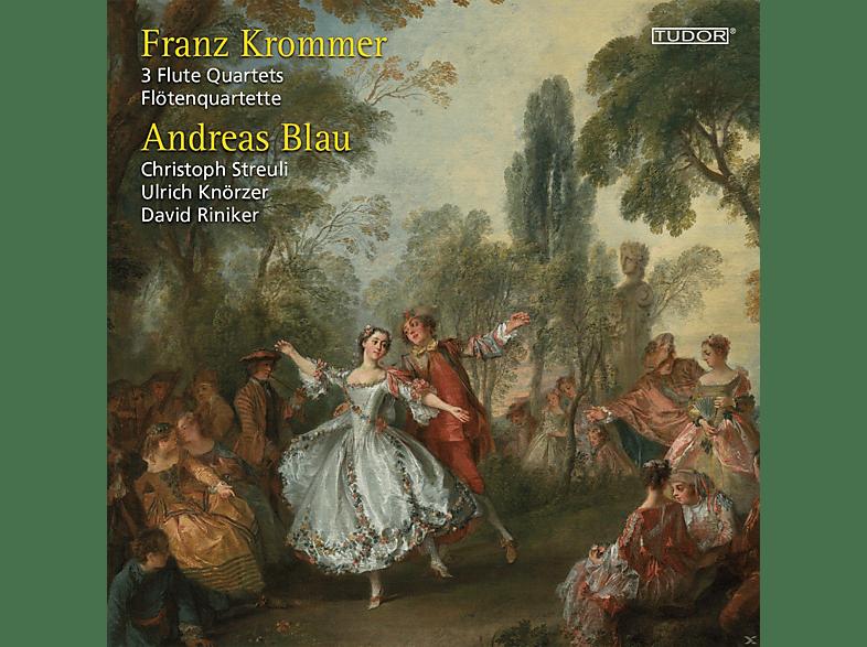 Andreas Blau, Christoph Streuli, Ulrich Knörzer, David Riniker - 3 Flötenquartette [CD]