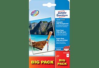 AVERY ZWECKFORM Superior Inkjet Fotopapier, 10x15, 200 g/m², 100 B (C2549-100)