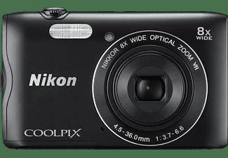 NIKON COOLPIX A300 Digitalkamera Schwarz, 8x opt. Zoom, TFT, WLAN