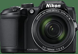 NIKON COOLPIX B500 Bridgekamera Schwarz, 40x opt. Zoom, TFT, WLAN