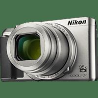 NIKON Coolpix A900 Digitalkamera Silber, 20.3 Megapixel, 35x opt. Zoom, TFT