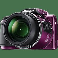 NIKON COOLPIX B500 Bridgekamera Pflaume, 16 Megapixel, TFT