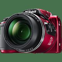 NIKON COOLPIX B500 Bridgekamera Rot, 16 Megapixel, TFT