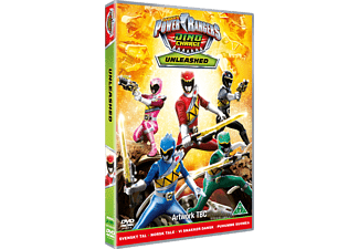 Power Rangers Dino Charge: Unleashed DVD