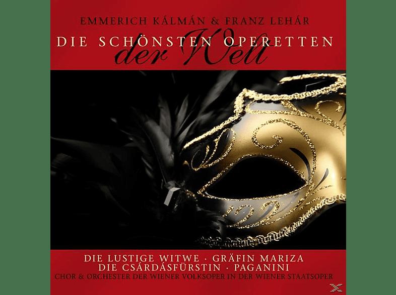K LM N, E. & LEH R, F. - Die Schönsten Operetten [CD]