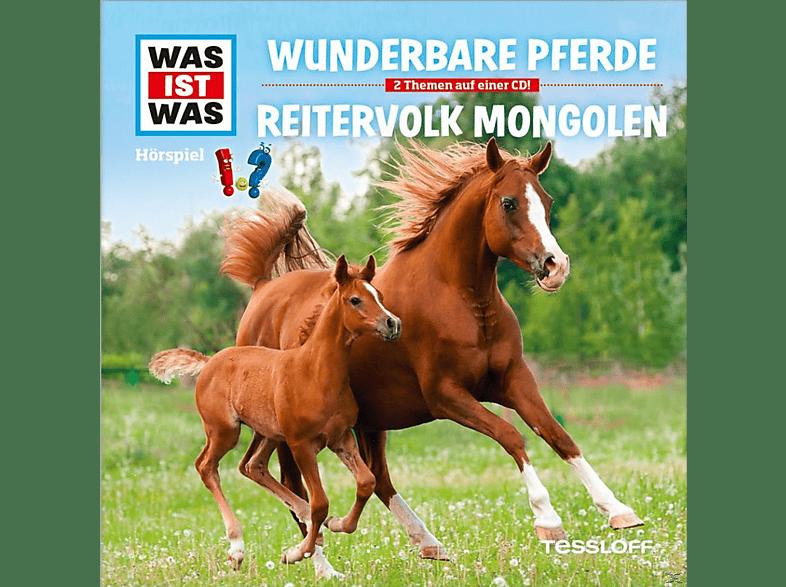 Was Ist Was - Folge 56: Wunderbare Pferde/Reitervolk Mongolen - (CD)